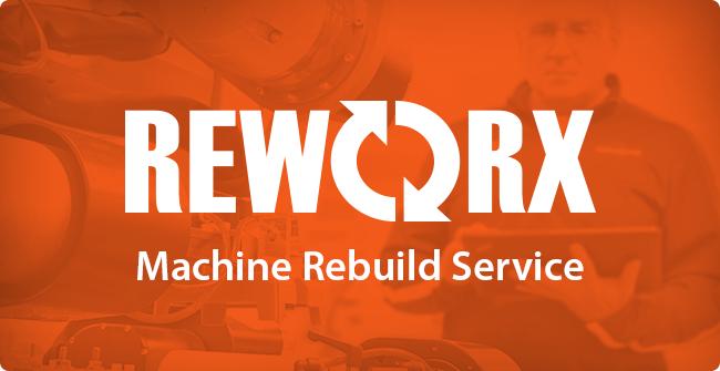 REWORX Machine Rebuild Services | Secondary Packaging Machine Rebuild Services