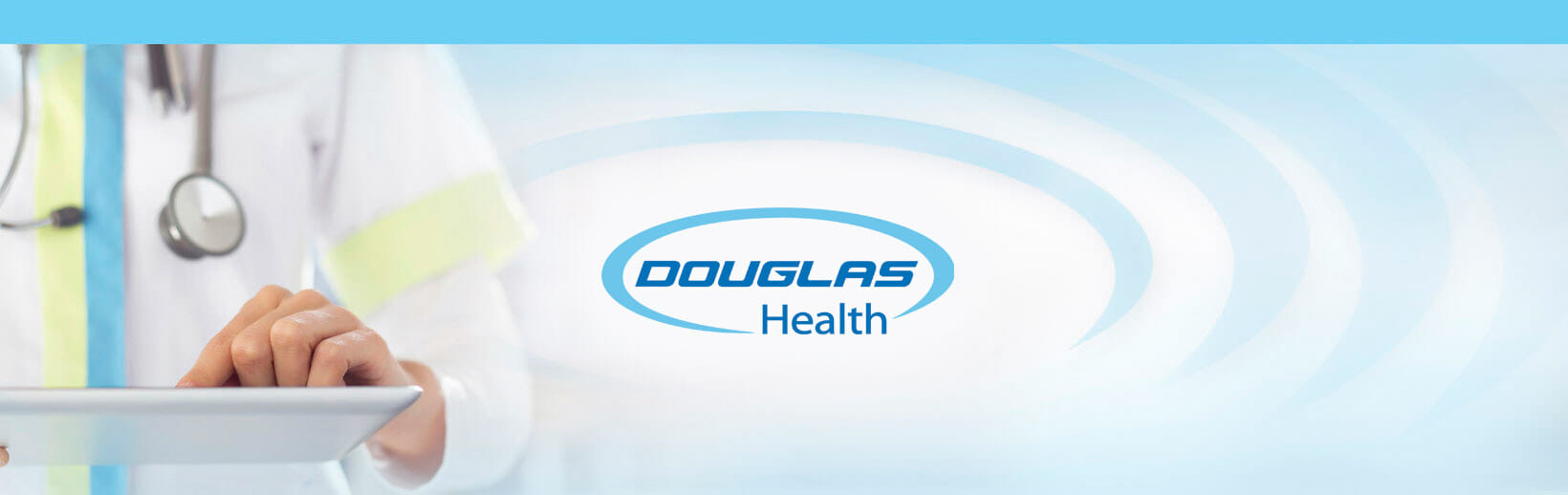 Douglas health banner