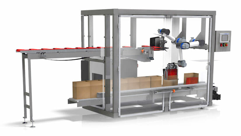 TriVex SL & SLi Robotic Case & Tray Packer